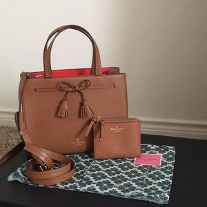 Kate Spade Brown Hayes & Wallet